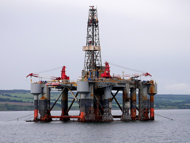 Offshore Rig Ocean Nomad in Cromarty... \u00a9 David Dixon :: Geograph Britain and Ireland