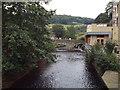 SD9927 : River through Hebden Bridge by Malc McDonald