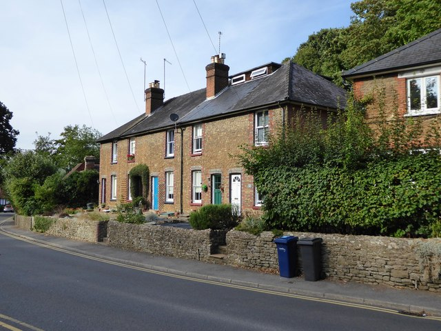 Houses in the Brighton Road, Crownpits, Godalming by Stefan Czapski
