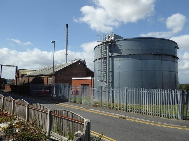 Haribo works boilerhouse - Pontefract