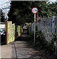 SO9121 : Footpath from Hatherley Lane towards Nettleton Road, Cheltenham by Jaggery