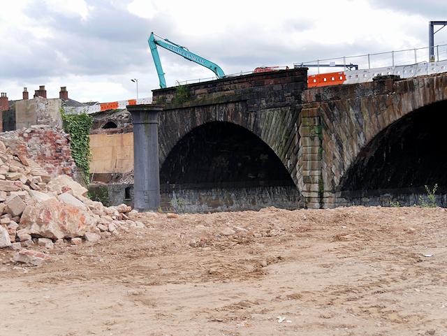 Ordsall Chord Construction, Stephenson's Bridge