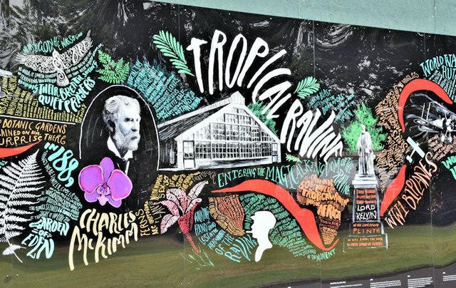 The tropical ravine, Botanic Gardens, Belfast - September 2016(2)