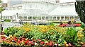 J3372 : Palm House and flower beds, Botanic Gardens, Belfast (September 2016) by Albert Bridge