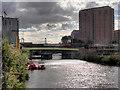 SJ8297 : Ordsall Chord Footbridge by David Dixon