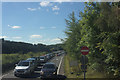 NZ2883 : Exit Slip Road, A189 Northbound by Mark Anderson
