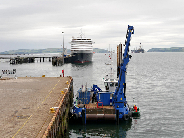Port of Cromarty, Invergordon Quayside