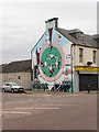 NH7068 : The Gather Round Mural at Invergordon by David Dixon