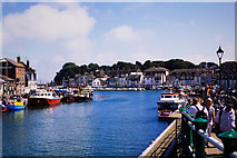 SY6778 : Weymouth Harbour by Oliver Mills