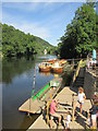 SO5615 : River  craft  on  the  River  Wye  Symonds  Yat  East by Martin Dawes
