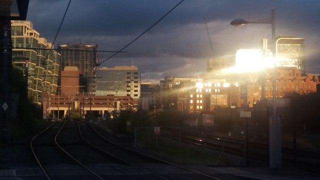 Sunset reflections - Birmingham