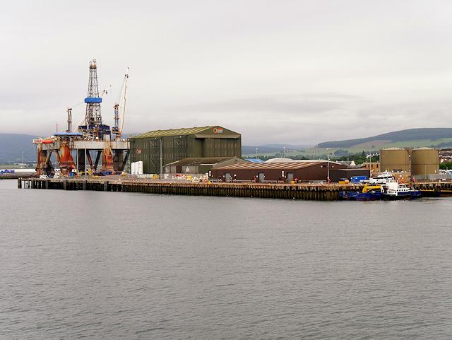 Cromarty Firth, Invergordon Port