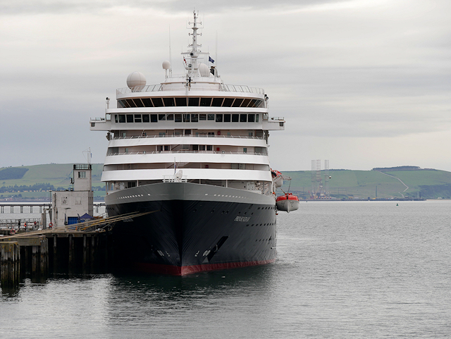 MS Prinsedam at Invergordon