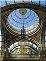 SE3033 : County Arcade roof, Leeds by Paul Harrop