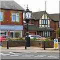 SD3548 : Knott End and Preesall Millennium Clock by Gerald England