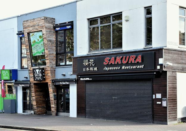 Smokehouse and Japanese restaurant, Botanic Avenue, Belfast (September 2016)
