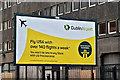 J3373 : Dublin Airport USA poster, Belfast (September 2016) by Albert Bridge