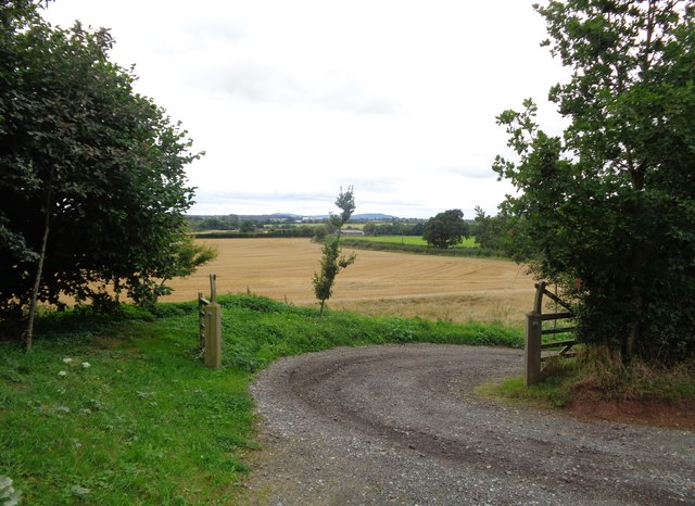 Track off Lummon Lane, Rushock