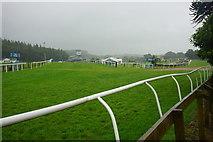 SD3778 : Cartmel Racecourse by Bill Boaden