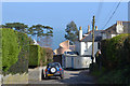 SX9371 : Looking down Horse Lane towards the junction with Dunmore Drive, Shaldon by Robin Stott