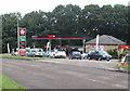 SO5710 : Texaco and Spar, Old Station Way, Coleford by Jaggery