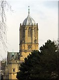 SP5105 : Tom Tower in Christ Church College by Steve Daniels