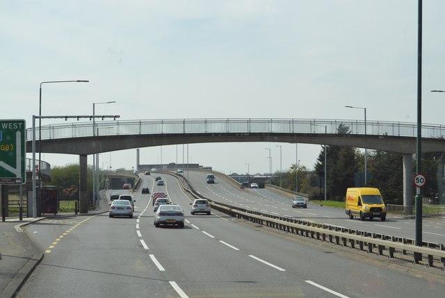 Footbridge, A316