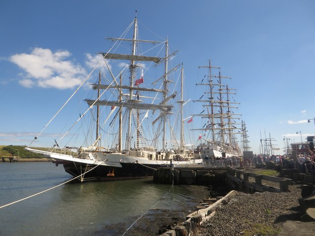 Tall Ships in Blyth Harbour