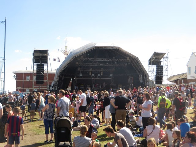The Main Stage, Blyth Tall Ships event