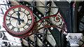 NZ2914 : Clock at Darlington railway station by Thomas Nugent