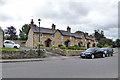 SP9452 : Cottages, Turvey by Robin Webster