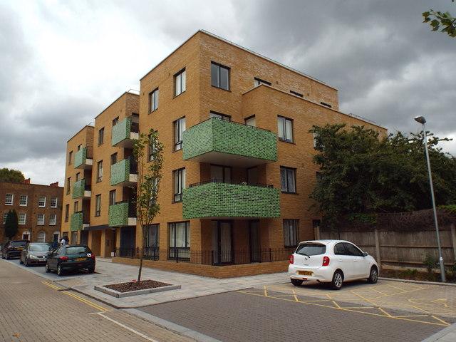 New council housing in Bermondsey