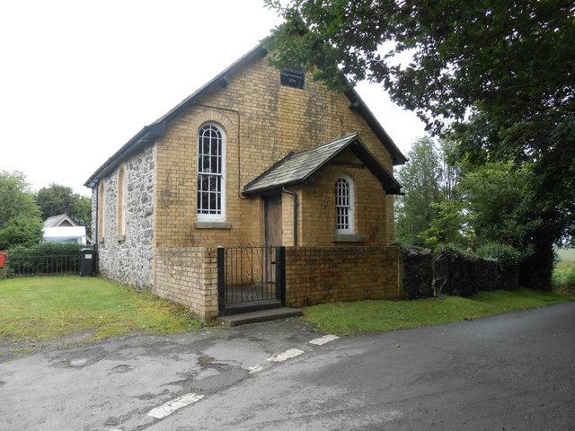 Penllys (Ebenezer Adgyweiriwyd) Chapel