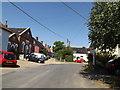 TM0890 : Chapel Road, New Buckenham by Adrian Cable