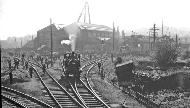Newhaven Locomotive Depot, 1962