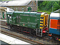 SX5994 : Okehampton Station - Dartmoor Railway train by Chris Allen