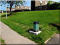 ST2795 : Former Pontnewydd litter bin in another area of Cwmbran by Jaggery