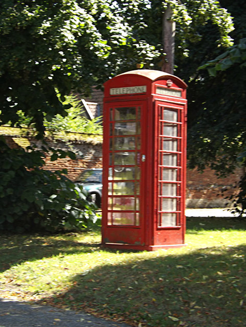 Telephone Box on Boosey's Walk