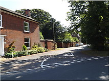 TM0890 : Boosey's Walk, New Buckenham by Adrian Cable