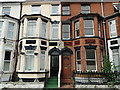 TG5207 : Houses in Great Yarmouth bearing a rare plaque by Adrian S Pye