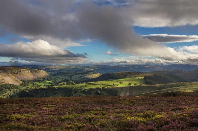 Eglwyseg Mountain view