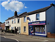 SX9091 : Underhill Real Estate Agents in St Thomas, Exeter by Jaggery
