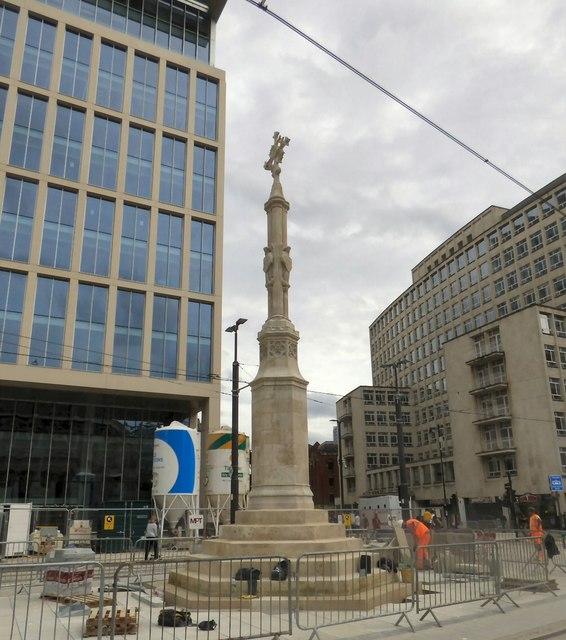 St Peter's Cross returned