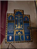 TG4919 : Holy Trinity and All Saints, Winterton on Sea: memorial (a) by Basher Eyre