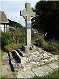 SO2355 : Gladestry war memorial by Philip Halling