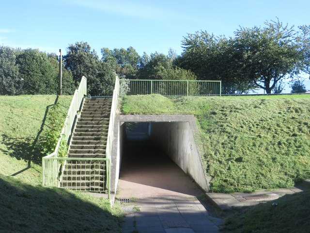 Underpass under Monkseaton Drive
