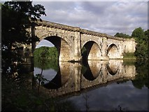 SD4863 : The Lune Aqueduct carries the Lancaster Canal over the River Lune by Tim Glover