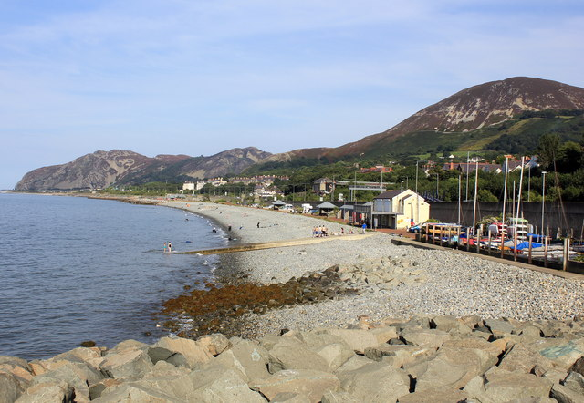 The Seafront at Penmaenmawr