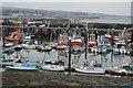 SW4628 : Newlyn Harbour by N Chadwick