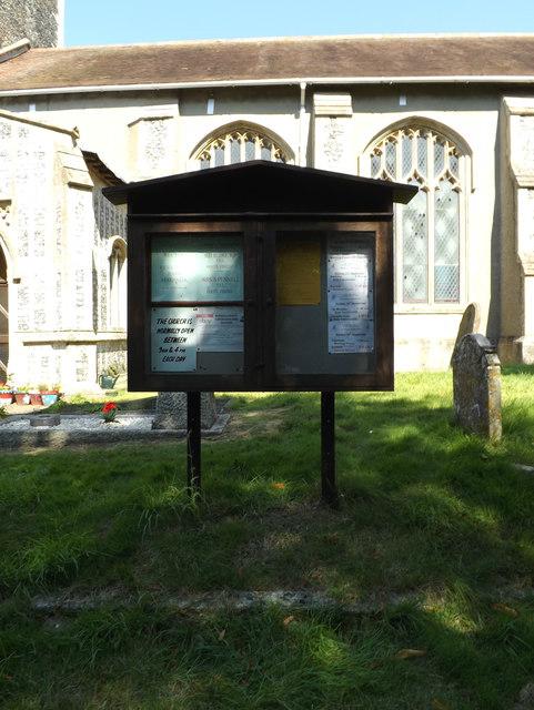 St.Michael's Church Notice Board